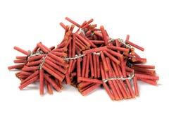 firecrackers Στοκ Εικόνες