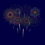 firecrackers illustrazione vettoriale
