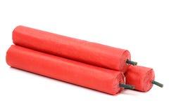 firecrackers stock afbeelding