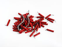 Firecrackers for Chinese new year Royalty Free Stock Photography