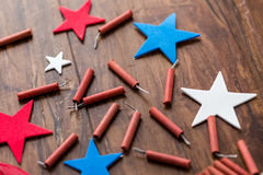 Firecrackers Stock Photography