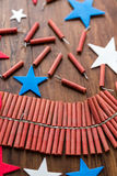 Firecrackers Stock Images