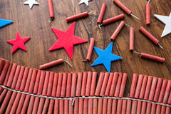 Firecrackers Royalty Free Stock Photo