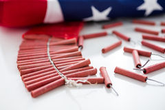 Firecrackers Royalty Free Stock Photography