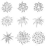 Firecrackers Set Vector. Fully editable illustration of Firecrackers Set in vector format Stock Photos