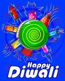 Firecraker sortido para a celebração de Diwali Fotografia de Stock