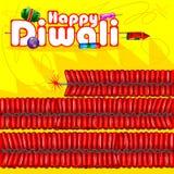 Firecraker sortido para a celebração de Diwali Imagens de Stock
