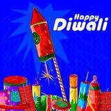 Firecraker sortido para a celebração de Diwali Imagem de Stock Royalty Free