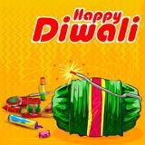 Firecraker sortido para a celebração de Diwali Foto de Stock