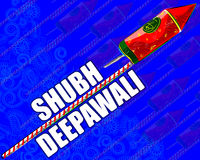 Firecraker sortido para a celebração de Diwali Imagem de Stock