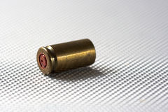 Fired cartridge Royalty Free Stock Images