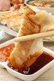 Fired Dumpling Stock Image