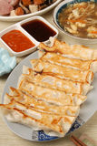 Fired Dumpling Royalty Free Stock Photography