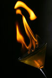 Fired glass Royalty Free Stock Photography