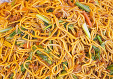 Fired local noodles  Hokkien Mee Royalty Free Stock Photos