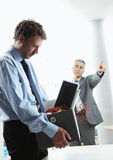 Fired Office Worker Stock Images