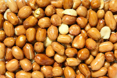 Fired peanuts Royalty Free Stock Images
