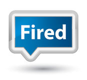 Fired prime blue banner button Stock Photo