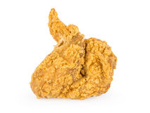 Fired wing chicken. On white background Stock Images