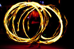 Firedancer Royalty Free Stock Images