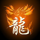 The Firedrake Royalty Free Stock Images