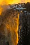 Firefall fotografia stock