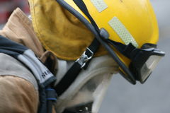 Firefight helmet Stock Images