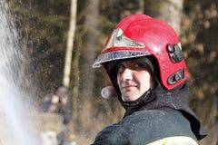 firefighter Στοκ φωτογραφία με δικαίωμα ελεύθερης χρήσης