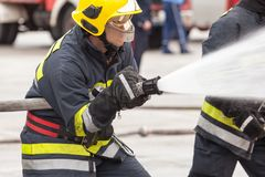 firefighter στοκ φωτογραφίες με δικαίωμα ελεύθερης χρήσης