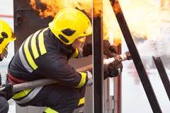 firefighter imagens de stock