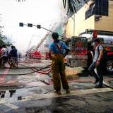 firefighter fotos de stock royalty free