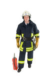 Firefighter. A german firefighter in his uniform Royalty Free Stock Photography