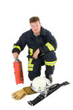 Firefighter Royalty Free Stock Photography