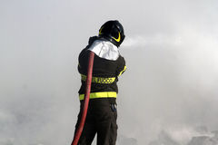 firefighter imagem de stock royalty free