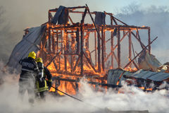 firefighter Foto de Stock Royalty Free