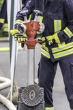 firefighter fotografia de stock