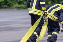 firefighter foto de stock