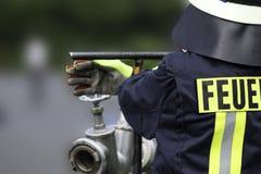firefighter imagem de stock