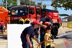 firefighter Στοκ Εικόνες