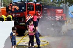 firefighter Στοκ Φωτογραφία