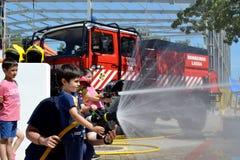 firefighter Στοκ Φωτογραφίες