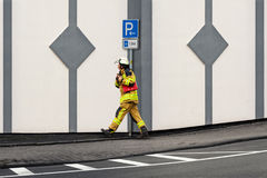 firefighter Fotografia de Stock