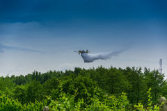Firefighter airplane, canadair Stock Image