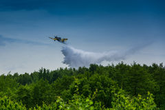 Firefighter airplane, canadair Royalty Free Stock Photos