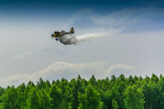 Firefighter airplane, canadair Royalty Free Stock Image