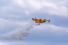 Firefighter airplane Royalty Free Stock Photo