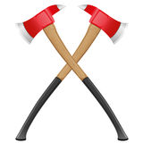 Firefighter ax vector illustration. Isolated on white background Royalty Free Stock Photography