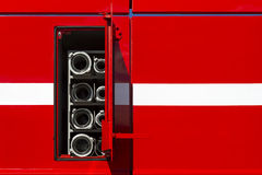 Firefighter car body Royalty Free Stock Photography