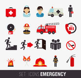 Firefighter design. Over white background, vector illustration Royalty Free Stock Image