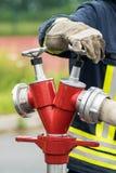 Firefighter Equipment Stock Image